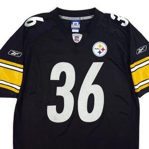 outlet store 65b08 89583 Reebok NFL On Field Steelers Bettis #36 Jersey